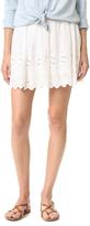Love Sam Garden Eyelet Embroidered Skirt