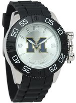 Game Time Men's 'Beast' Quartz Metal and Polyurethane Casual Watch, Color:Black (Model: COL-BEA-MIC)