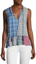 Plenty by Tracy Reese Women's Romantic Printed Top
