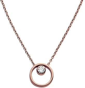 Skagen Women's Rose Gold Necklace SKJ0850791