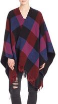 The Kooples Plaid Poncho