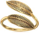 House Of Harlow Sacred Leaf Wrap Ring