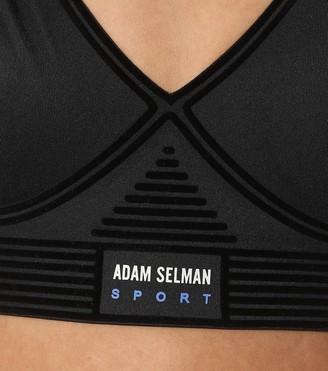 Adam Selman Sport Bonded nylon sports bra