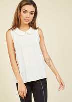 Darling Dimension Sleeveless Top in 1X