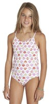 Billabong Girl's Seeing Shells One-Piece Swimsuit