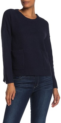 MelloDay Two Pocket Pullover Sweater
