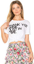 Chaser Thank You Wine Tee