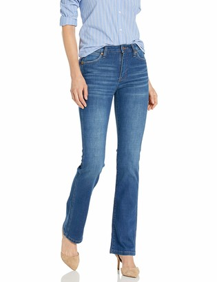 Wrangler Women's Retro Premium High Waist Stacked Boot Jean