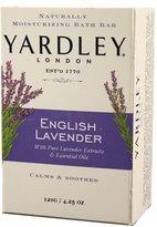 Yardley London Soap Bath Bar, English Lavender & Essential Oils, 8 Count