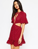 Bec & Bridge Magic Drum Mini Dress
