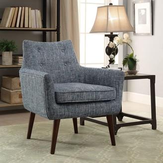 Linon Riley Blue Chair