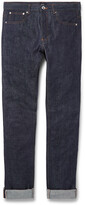 Thumbnail for your product : A.P.C. Petit Standard Slim-Fit Dry Selvedge Denim Jeans