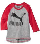 Puma Girls' Fashion T-shirt.