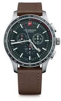 Victorinox Alliance Sport Leather Strap Watches