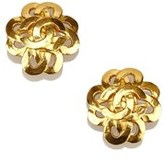 Chanel Pre-owned: Gold-tone Cc Clip-on Earrings.