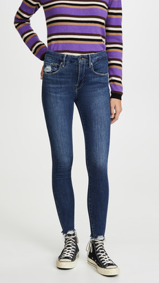 Good American Good Legs Extreme Stiletto Jeans