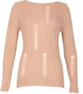 Dorothy Perkins Womens *Izabel London Pink Round Neck Knitted Jumper- Pink