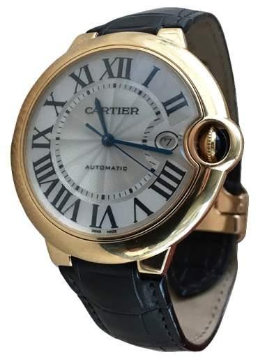 Cartier Ballon Bleu W6900551 Yellow Gold Automatic 42mm Mens Watch