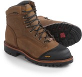 """Chippewa Apache Composite Toe 6"""" Leather Work Boots - Waterproof, Insulated (For Men)"""