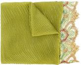 Valentino Garavani Valentino pleated and lace scarf - women - Silk/Polyamide/Viscose/Cashmere - One Size