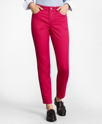 Brooks Brothers Stretch Supima Cotton Five-Pocket Pants