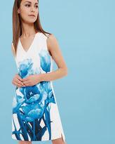 JAMINA Blue Beauty tunic dress