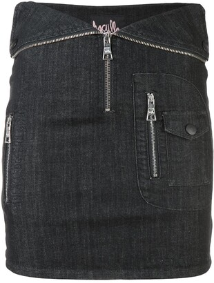 Haculla Nobody's safe fitted skirt
