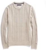 Tommy Hilfiger Textured Crew Neck Sweater