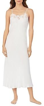 Eileen West Sleeveless Satin Nightgown
