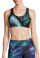 We Are Handsome Palm-Print Sports Bra