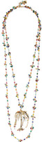 Rosantica Rosarietto Amore Gold-tone Beaded Necklace - one size