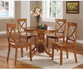 Home Styles Cottage Oak Dining Set (5-Piece)