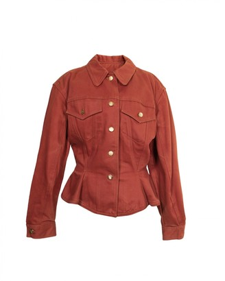 Jean Paul Gaultier Red Cotton Jackets