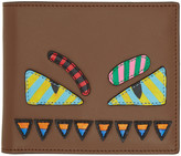 Fendi Brown 'Bag Bugs' Wallet