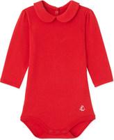 Petit Bateau Peter-pan cotton bodysuit 3-36 months