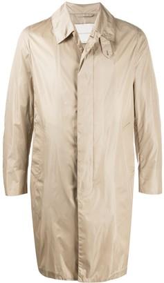 MACKINTOSH Dunkeld single-breasted coat