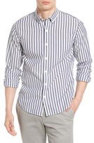 Bonobos Men's Slim Fit Summerweight Stripe Sport Shirt