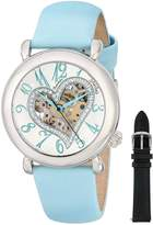 Stuhrling Original Women's 109SW.1215C2 Cupid Aphrodite Collection Automatic Skeleton Watch