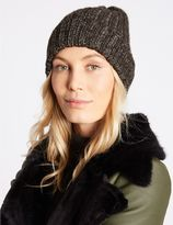 Marks and Spencer Metallic Beanie Hat