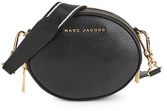 Marc Jacobs Rewind Oval Leather Crossbody