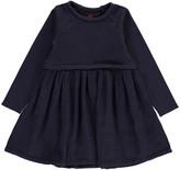 Bonton Dual-Fabric Dress