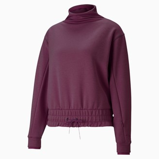 Puma Forever Luxe Mock Neck Training Top