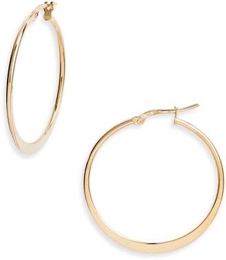 Argentovivo Small Hoop Earringss