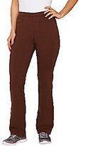 Denim & Co. As Is Active Duo Stretch Slightly Bootcut Pants