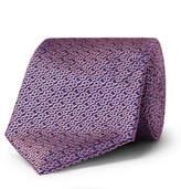 Turnbull & Asser 8cm Silk-Jacquard Tie