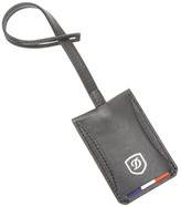 S.t. Dupont Carbone Leather Address Tag