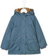Stella McCartney Blythe waterproof fur lined parka