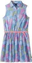 Tommy Hilfiger Printed Palm Shirtdress Girl's Dress
