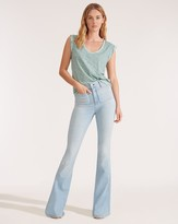 Veronica Beard Florence High-Rise Flare Jean