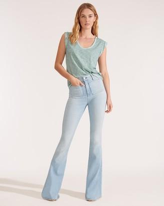 Veronica Beard Florence High-Rise Flare Jean